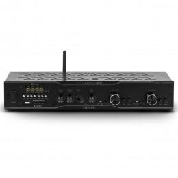 Amplificador Som Ambiente 160W 2 Ambientes até 24 Caixas c/ USB / Bluetooth / APP / 2 Zonas Slim 2500 APP - Frahm