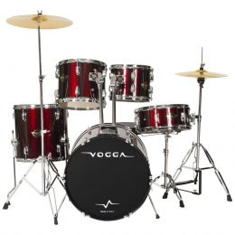 Bateria Acústica Talent VPD918 Bumbo 18 Polegadas Vinho Vogga