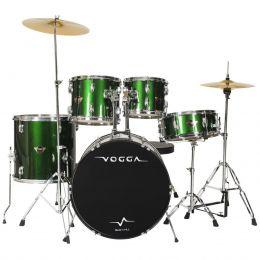 Bateria Acústica Talent VPD920 Bumbo 20 Polegadas Verde Vogga
