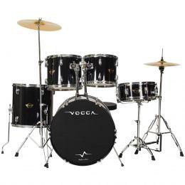 Bateria Acústica Vogga VPD918 Preta 18 Polegadas Talent
