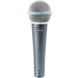 Microfone c/ Fio de Mão Dinâmico - Beta 58 A Shure