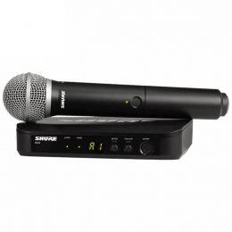 Microfone s/ Fio de Mão - BLX 24 BR / PG 58 Shure