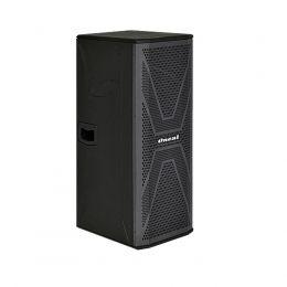 Caixa amplificada Line Array vertical Oneal 2x8