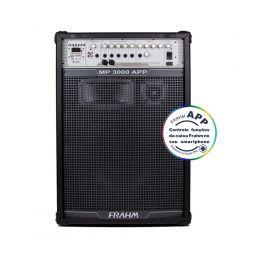 Caixa Amplificada MP3000AP USB/Bluetooth 300W 15 Polegadas Frahm