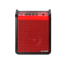 Caixa Amplificada Multi-uso Chroma Battery Red 100W 6 Polegadas Frahm