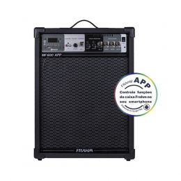 Caixa Amplificada Multiuso MF600APP 10 Polegadas 100W Frahm