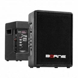 Caixa Ativa Fal 8 Pol 100W c/ USB / Bluetooth - HG 100 USB BT Borne