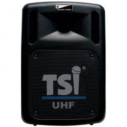 Caixa Portátil Fal 10 Pol 100W c/ USB / Bluetooth / Bateria / 2 Microfones - CSM 100 UHF TSI