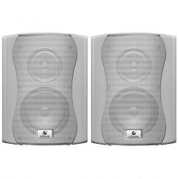Caixa Passiva p/ Som Ambiente Fal 6 Pol 60W c/ Suporte (Par) - PS 6 Plus Frahm