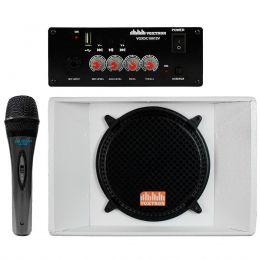 Caixa Quadrilatera Voxtron Kit 4 Falantes 12 Polegadas 200W + Amplificador + Microfone