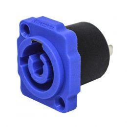 Conector powercon macho para AC - WC 1823P BL Wireconex