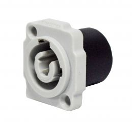 Conector powercon macho para AC - WC 1833P GY Wireconex