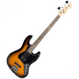 Contrabaixo Michael BM607N SK 4 Cordas Passivo Jazz Bass - Black Sunburst