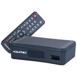 Conversor Digital Full HD p/ TV c/ USB / HDMI / Gravador - DTV 4000 Aquário
