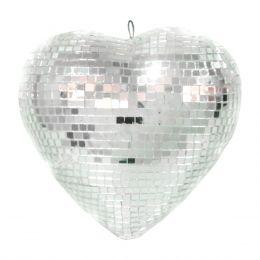 Coração Espelhado 20cm LCO 20 - Lumyna Light