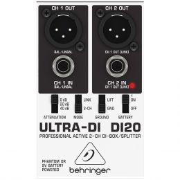 Direct Box Ativo Ultra-DI DI 20 - Behringer