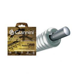 Encordamento em aço cobre prateado para viola caipira GESVL10 .010 com acabamento bolinha Giannini