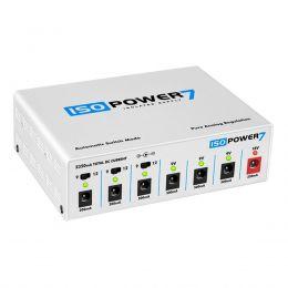 Fonte Automática de 9,12 e 18V DC 2350mA 6 Plugs 7 saidas isoladas Iso Power 7 - Landscape