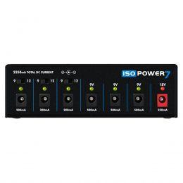 Fonte Automática Landscape Iso Power 7 de 9,12 e 18V DC 2350mA 6 Plugs Preta