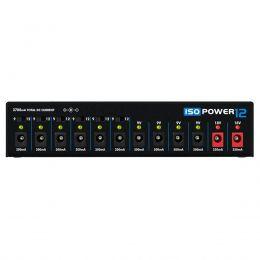 Fonte Automática Landscape Iso Power 12 de 9,12 e 18V DC 3700mA 12 Plugs Preta