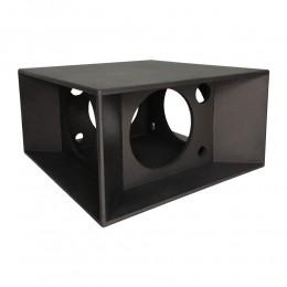 Gabinete Vazio 2 Vias Caixa Quadrilátera para Falante 12 polegadas + Tweeter Piezo