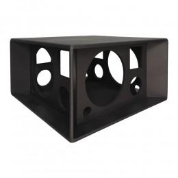 Gabinete Vazio 3 Vias Caixa Quadrilátera para Falante 12 polegadas + Supertweeter + Corneta