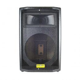 Gabinete Vazio p/ Caixa Frontal 2 Vias Falante 10pol + Corneta Completa - Speed Voice