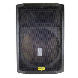Gabinete Vazio Preto p/ Caixa Frontal 2 Vias Falante 15pol + Corneta Completa - Speed Voice