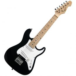 Guitarra Infantil Strato VCG120BK 6 Cordas Preto Vogga
