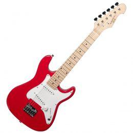 Guitarra Infantil Strato VCG120RD 6 Cordas Vermelho Vogga