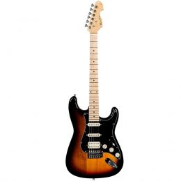 Guitarra Michael GM237N SK Strato Power Advanced Black Sunburst