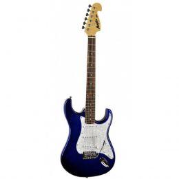 Guitarra Strato Memphis MG32 Azul Metalico