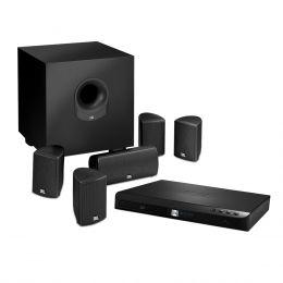 Home Theater c/ Receiver 5.1 Canais 2 HDMI c/ Bluetooth e LAN, 5 Caixas e 1 Subwoofer Cinema BD300 - JBL