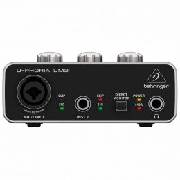 Interface de audio - UM2 - Behringer