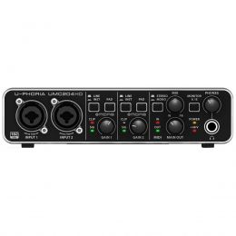 Interface de áudio - UMC204HD - Behringer