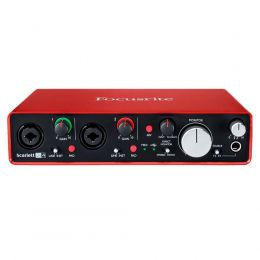 Interface de Áudio SCARLETT 2i4 Focusrite