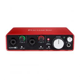 Interface de Áudio SCARLETT 2i2 Focusrite