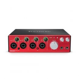 Interface de Áudio Thunderbolt CLARETT 4 PRE Focusrite