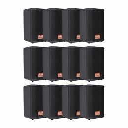 Kit 12x caixas passivas SomPlus 6