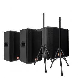 Kit 2x caixas passivas 12