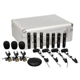 Microfone c/ Fio p/ Instrumentos (8 Unidades) DRK 681 - Superlux