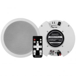 Kit Arandela Ativa + Passiva Fal 6 Pol 100W c/ Bluetooth - Arandela BT 6 Frahm