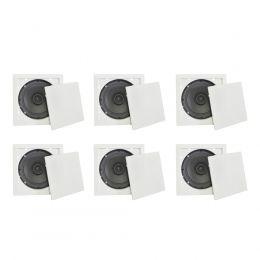 Arandela Quadrada Full Range 6 Polegadas 30W KIT22036 - Fiamon