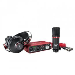 Kit Interface Microfone Fone de Ouvido KIT SCARLETT 2i2 Focusrite