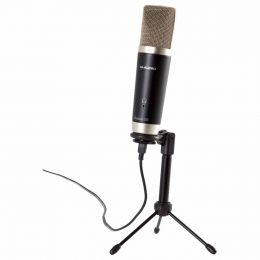 Microfone USB + Software para Estúdio de Gravação Vocal Studio - M-Audio