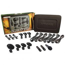 Kit Microfones PGADRUMKIT7 Bateria Shure