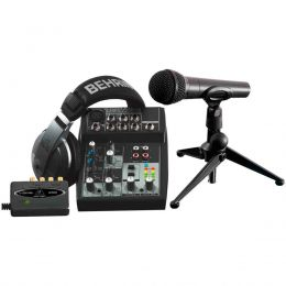 Kit estudio - PODCASTUDIO USB - Behringer