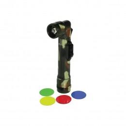 Lanterna CSR WOLF 9412 em L com Lentes Coloridas