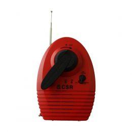Lanterna Rádio AM/FM à manivela - CSR
