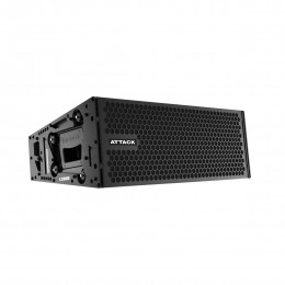 Line Array Ativo Attack Vertcon L206D 2x6 Polegadas
